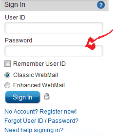 cox webmail login step 2