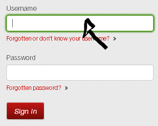 virgin media email sign in step 1