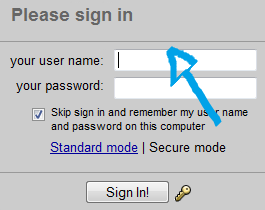 myway email login step 1