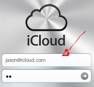 icloud mail login step 1