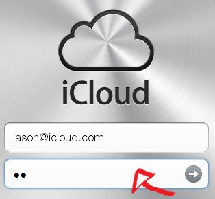 icloud mail login step 2