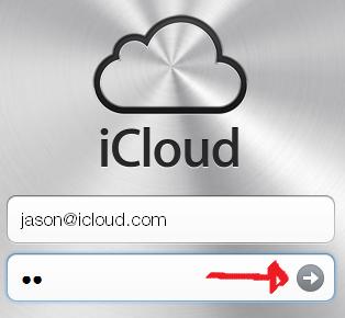 icloud mail login step 3