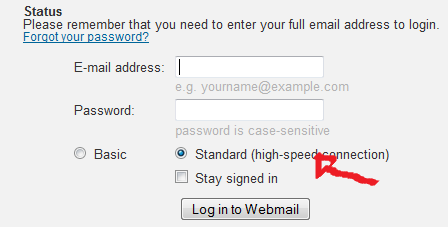buckeye express login step 3