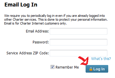 charter webmail sign in step 5