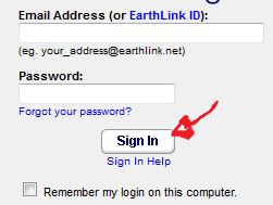 earthlink email sign in step 3
