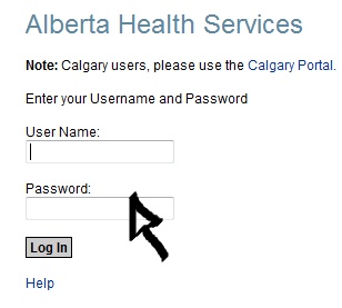 alberta health services email sign in step 2